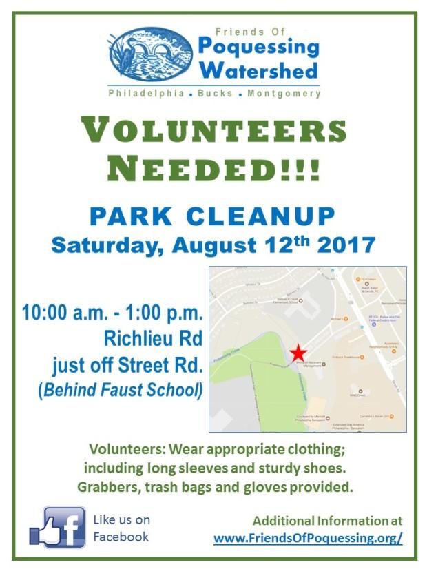 08_2017 FOPW Clean up flyer